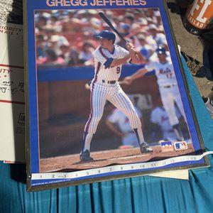 MLB Jets Jeffries Poster Framed for Sale in Lancaster, PA