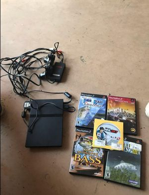 Play Station 2 plus 5 games for Sale in Fairfax, VA