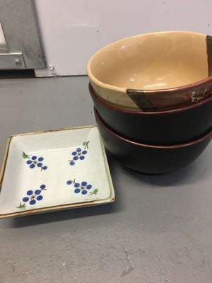 Small ceramic bowls for Sale in Silver Spring, MD