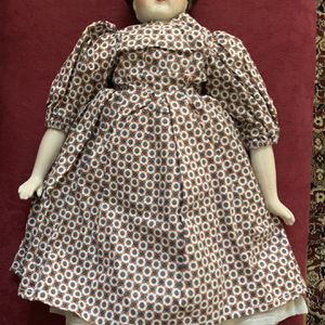 VINTAGE PORCELAIN DOLL ORIGINAL DRESS AND PETTICOAT 16.5 Inches for Sale in Alameda, CA