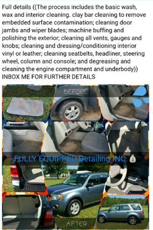 Mobile detailing for Sale in Charlotte, NC
