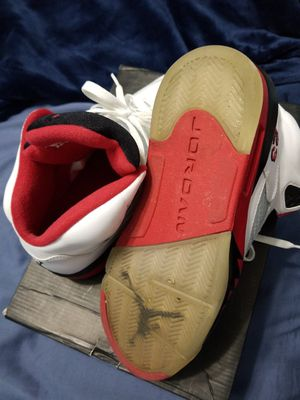 Jordan retro 5 sz 7.5 for Sale in Tampa, FL