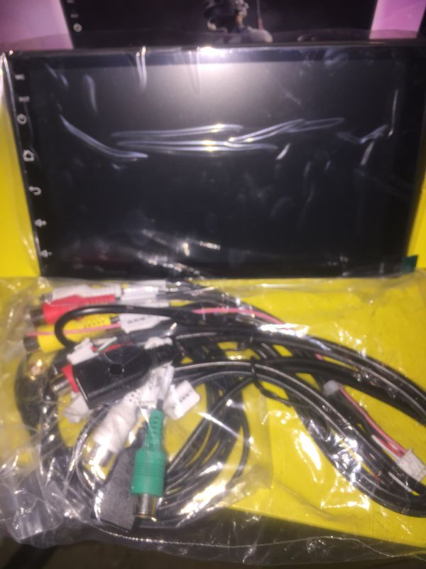 """7 """" inch Android double din (New) WIFi Navigation"""