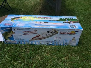 RADIO CONTROL BOAT FOR REEL FISHING VERY COOL for Sale in Alexandria, VA