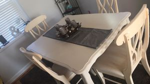 Solid wood Dining table with Chairs for Sale in Arlington, VA