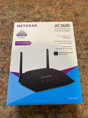 Netgear AC1600 Smart WiFi Router for Sale in Centennial, CO