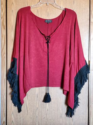 POL, Pullover Shirt With Fringe for Sale in Bunker Hill, WV