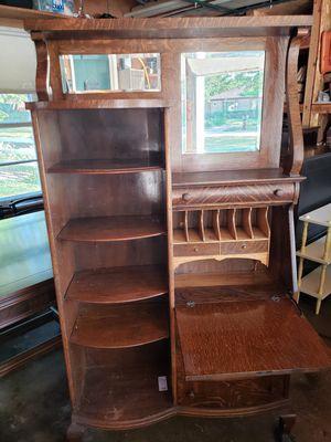 Antique desk/cabinet for Sale in Lombard, IL