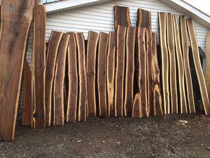 Black walnut slabs $25 each for Sale in Elmira, NY