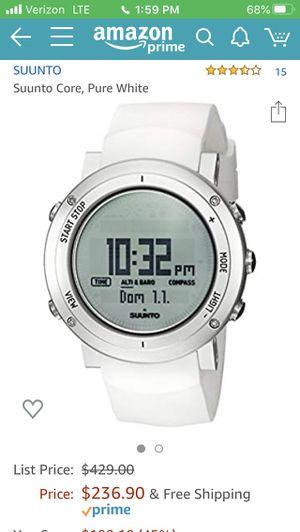 Suunto Alu white watch for Sale in Portland, OR