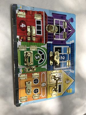 Lock game thing for kids for Sale in Plant City, FL