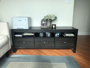 Black multi-purpose shelf or TV stand for Sale in Miami, FL
