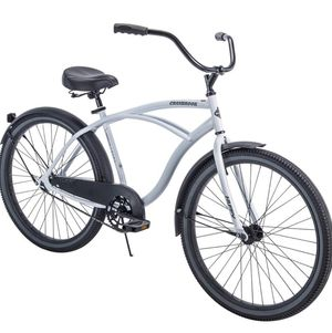 "Huffy 26"" Cranbrook Men's Cruiser Bike with Perfect Fit Frame, White *NEW IN BOX* for Sale in Newark, NJ"