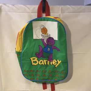 Vintage 1992 Barney Backpack 18x12 for Sale in Chicago, IL