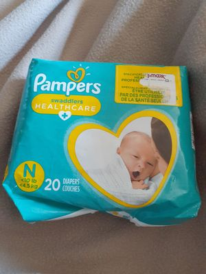 Pampers Newborn Diapers for Sale in Columbus, OH