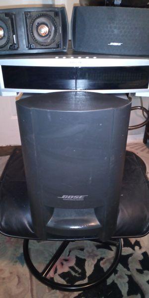 Bose surround sound speaker and media for Sale in Phoenix, AZ