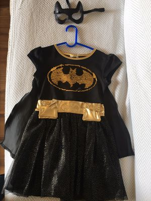 Beautiful Batgirl dress with cape and mask for $15 for Sale in Rancho Cucamonga, CA