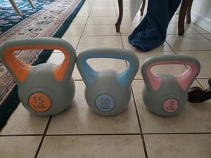 Kettle bells for Sale in Land O Lakes, FL