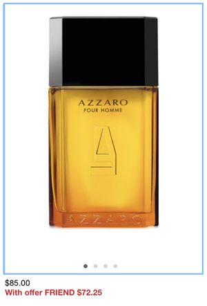 AZZARO POUR HOMME FOR MEN size 3.4 for Sale in Visalia, CA