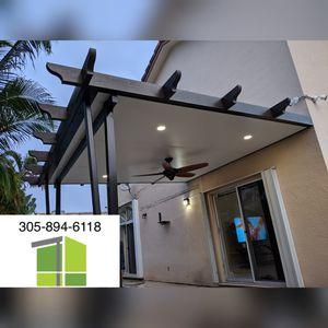 Insulated Aluminum Pergola for Sale in Miami, FL