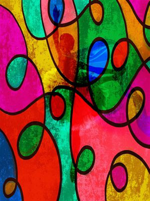 Limited Edition - Abstract Color - Art Portrait Print for Sale in Silver Spring, MD