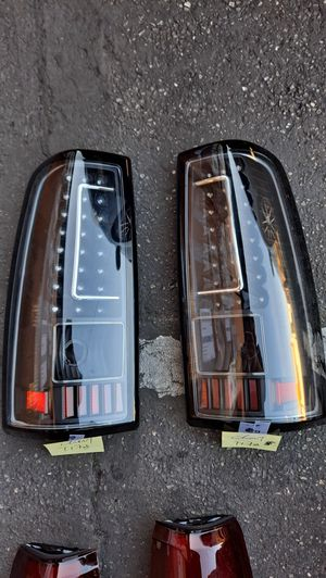 Chevy Silverado Gmc Sierra 99 to 06 L.E.D Taillights Free Delivery for Sale in Fresno, CA
