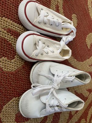 af5544bf496 Converse All-Stars size 4 and baby walking shoes size 5w for Sale in Oakland