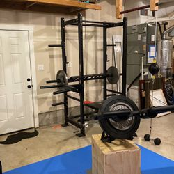 Full Home Gym With Landmine And Dip Bar for Sale in Ridgefield,  WA