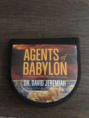 Dr David Jeremiah Agents if Babylon 12 CD Messages on Daniel for Sale in Las Vegas, NV
