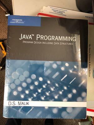Java Programming: Program Design Including Data Structures for Sale in Bartlett, IL