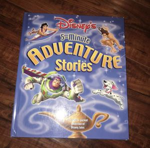 Disney adventure stories book for Sale in Fresno, CA
