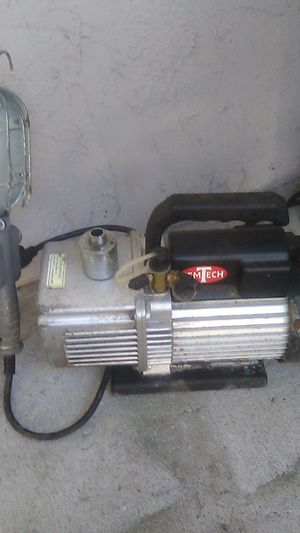 GemTech 5.5CFM 2Z5CFM 2-Stage A/C Refrigerant Vacuum Pump 1/2HP HVAC Freon for Sale in Port Richey, FL