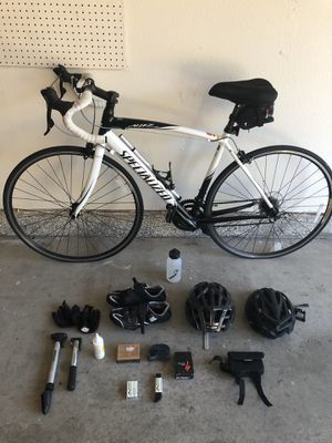 "Specialized Road Bike Allez and Accessories Extras Shimano Carbon 54"" for Sale in Escondido, CA"