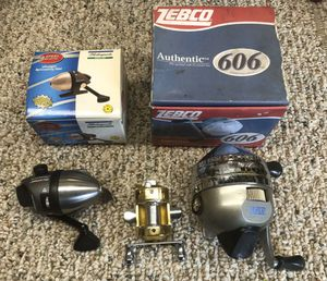 Fishing reels lot Of 3 Zabco for Sale in Simi Valley, CA