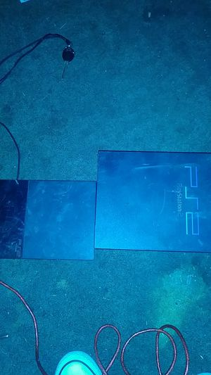Ps2 slim and the first gen for Sale in Bakersfield, CA