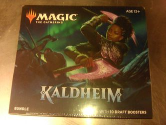 Magic The Gathering Kaldheim Booster Bundle for Sale in Portland,  OR