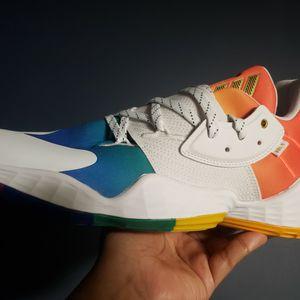 Adidas James Harden Vol 4 Men's Pride Pack Rainbow Fx4797 Size for Sale in Huntington Park, CA