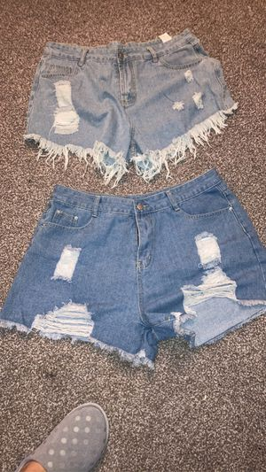 Plus size shorts for Sale in Norco, CA