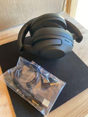 Sony Wireless Noise Cancelling Over-the-Ear Headphones - Black for Sale in Gibbsboro, NJ