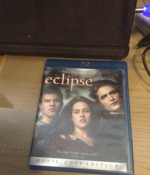 Blu Ray the twilight saga eclipse for Sale in Hialeah, FL