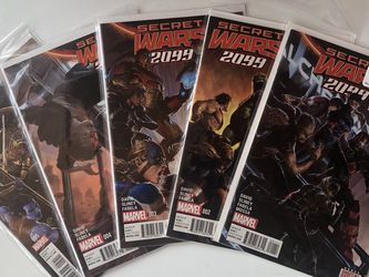 Marvel Secret Wars 2099 #1- 5 for Sale in Rosemead,  CA