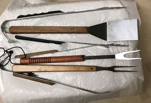 Lot of 5 assorted grill tools for Sale in Eau Claire, WI