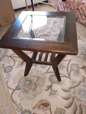 Wooden end table 24x24 for Sale in Alexandria, VA