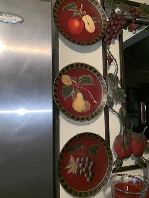 Home interiors plates for Sale in Fresno, CA