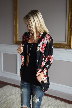 Woman's Small floral cardigan for Sale in Saint Robert, MO