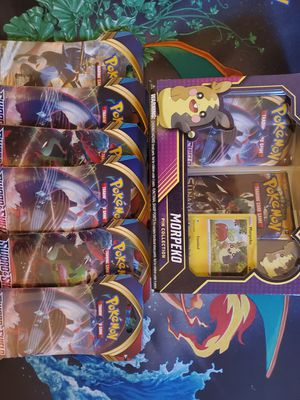 Morpeko Pin Collection Bundle POKEMON CARDS for Sale in Edmonds, WA