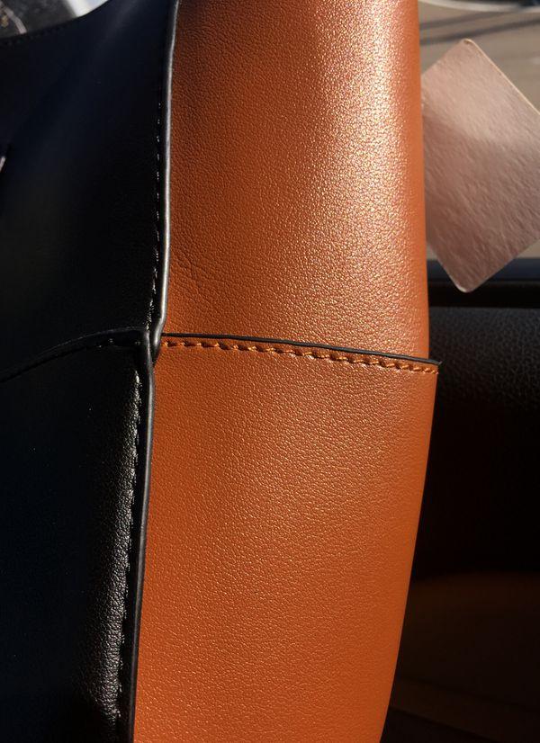 On hold Eliz - NWT Large purse kathy ireland guitar strap Hobo bag with crossbody bag NWT super soft vegan leather
