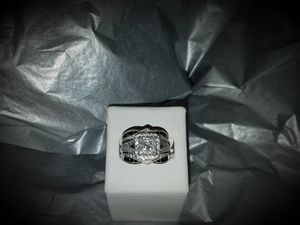 14kt white gold ring for Sale in Milan, IL
