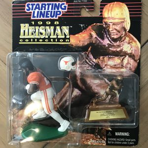 1998 Texas Longhorns Starting Lineup Heisman Collection Earl Campbell Action Figures for Sale in Buda, TX
