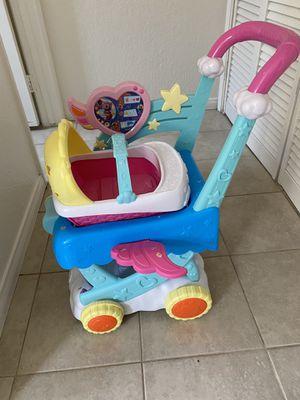 Disney Jr T.O.T.S Stroller/ baby doll for Sale in El Cajon, CA